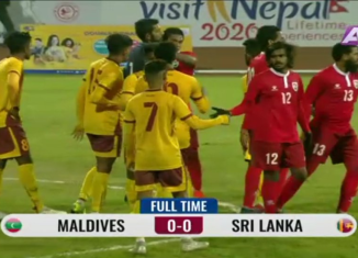 Sri Lanka vs Maldives - SAG 2019