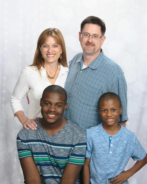 Anne Marie and her family