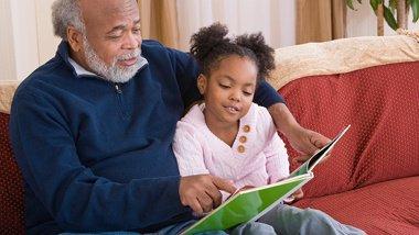 Image result for grandparents reading to grandchildren