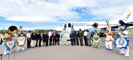 Bahamasair Successfully Launches New Nonstop Houston Nassau Flights     Minister of Tourism  Aviation and Bahamasair  the Honourable  Dionisio  D Aguilar