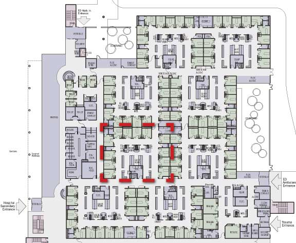 Building A Better Emergency Department An Architect S Perspective Emergency Physicians Monthly