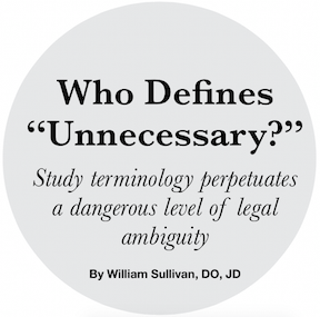 Who Defines
