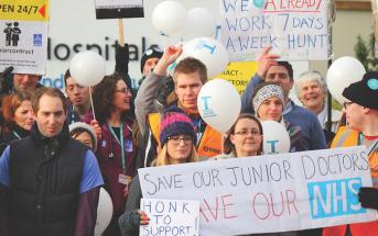 In UK, Emergency Physicians Strike Back