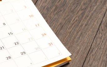 Here's a Calendar to Help You Plan the Year's Finances