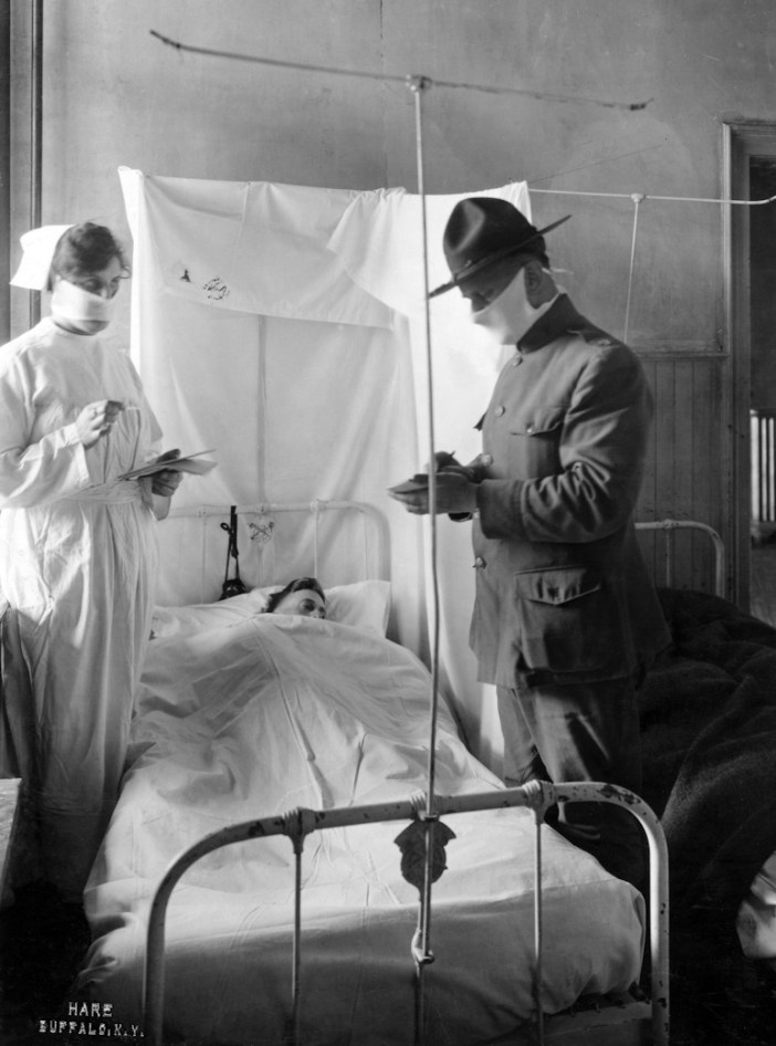 spanish flu nurse and doctor