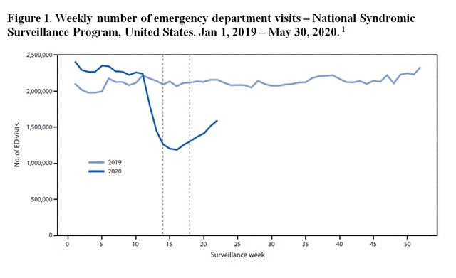 Patient Volume Amidst the Coronavirus Pandemic - figure 1