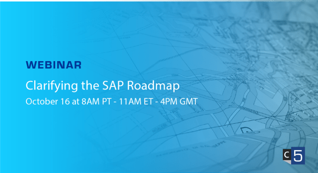 Roadmap Series Part 1: Clarifying the SAP Roadmap