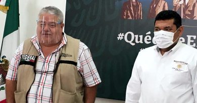 Destaca Secretario de Bienestar Javier May trabajo de la Delegación Veracruz.