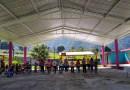 Entregan techado a la Escuela Primaria de la localidad de La Raya.