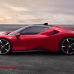 Ferrari SF90 Stradale: rudý premiant z Maranella