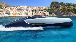 Superjachta Bugatti je rychlá jako šíp