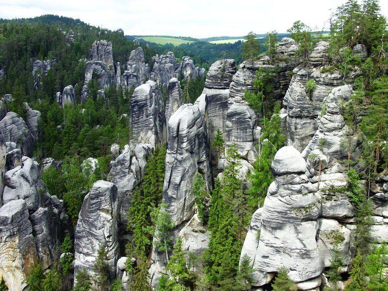 3 přírodní krásy východu Čech: Adršpašsko-teplické skály, Sečská a Pastvinská přehrada