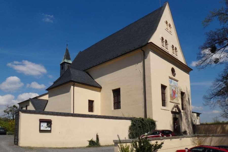 Kostel sv. Josefa při kapucínském klášteře ve Fulneku