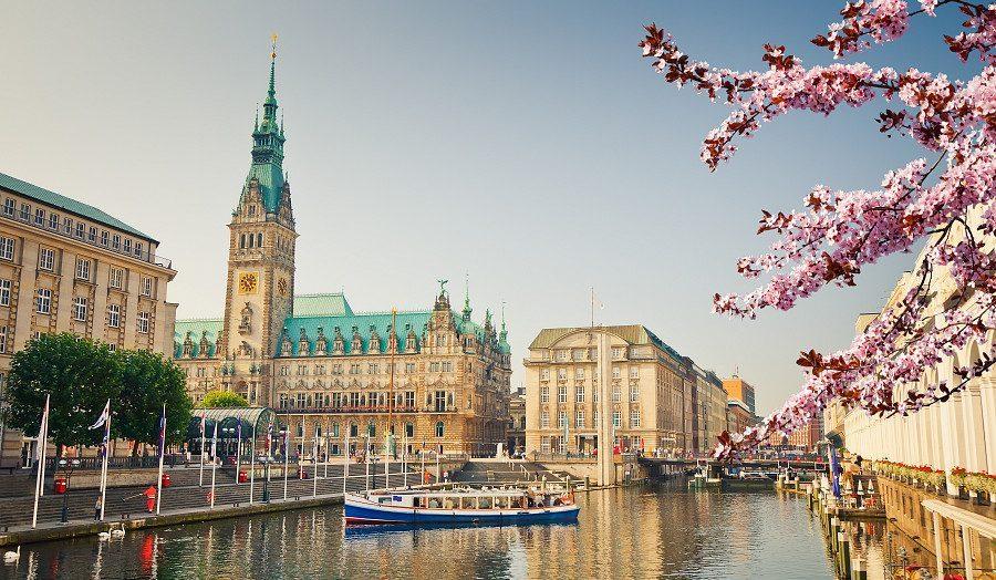 Hamburk, město na vodě