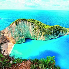 Ostrov Zakynthos, květina východu