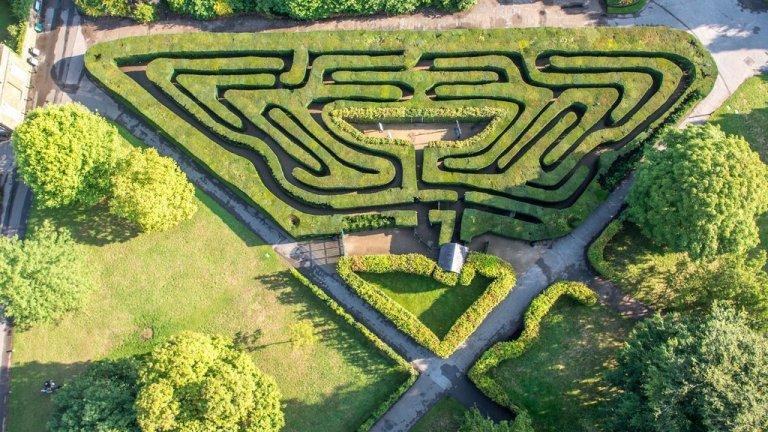 VIDEO: V bludišti Hampton Court je snadné se ztratit!