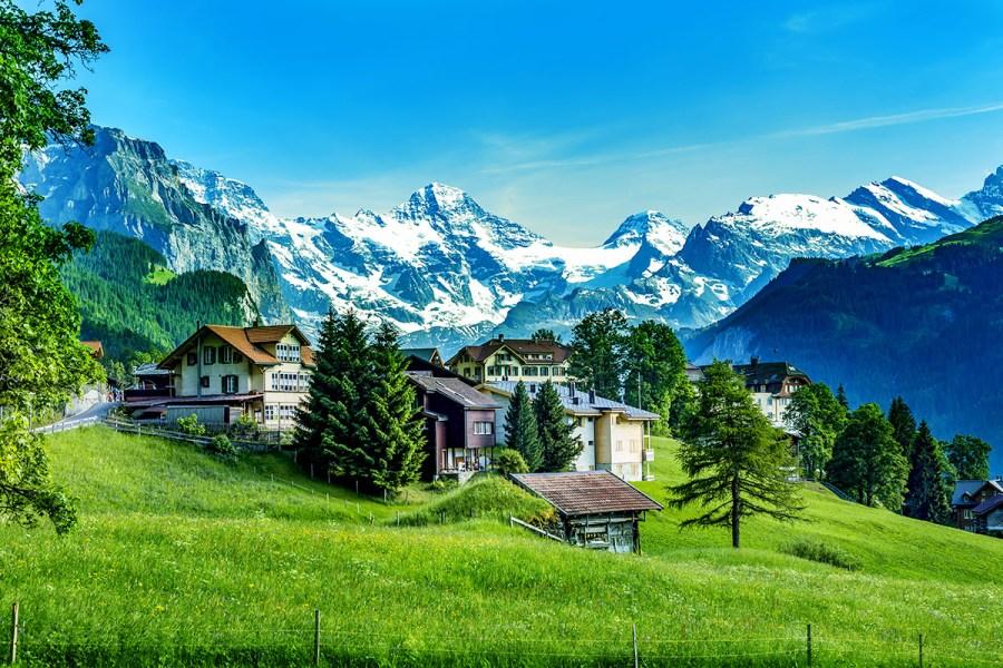 Švýcarsko, krajina bohem políbená