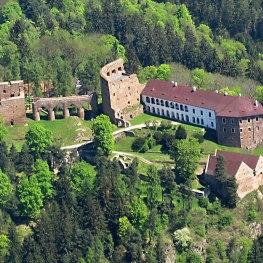 Majestátný hrad ve Velharticích