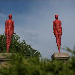 Hořice: Přehlídka současného výtvarného umění vexteriéru města