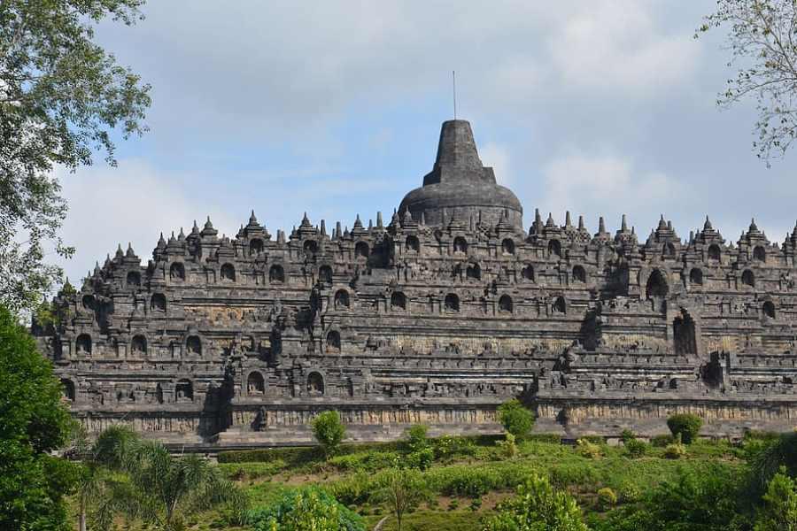 Borobudur: Chrám uprostřed džungle