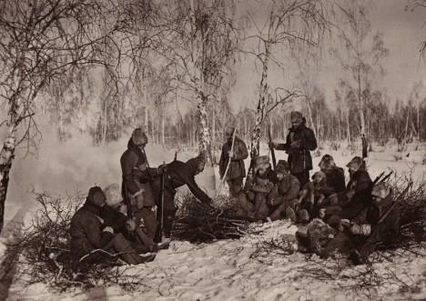 České legionáře v Rusku neobtěžoval jenom krutý mráz, ale také nepříjemný hmyz.
