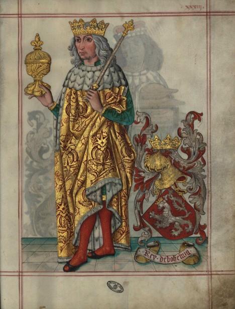 Český král Vladislav Jagellonský nakonec zjistí, že pravda je na straně havířů.