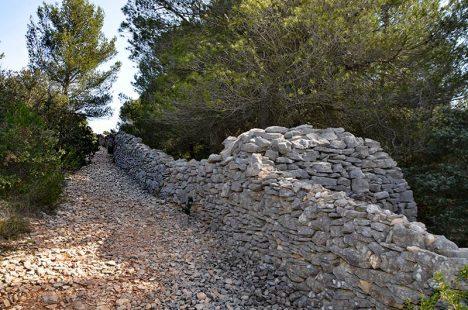 Šíření moru z přístavu do zbylé části Provence má zabránit zeď.