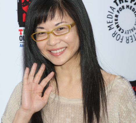 LOS ANGELES - APR 12: Keiko Agena arrives at Warner Brothers