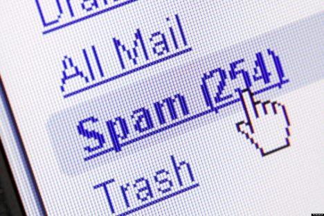 Spam in mailbox