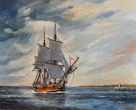 Ani trochu se námořníkům nechce zpátky do uplakané a studené Anglie...