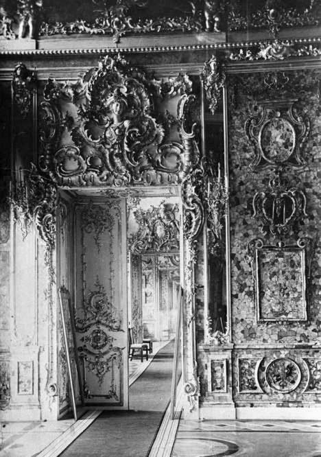 RIA Novosti. Dmitriev pre-war photo of the Amber Room.