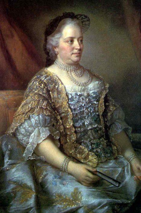 Osvícená panovnice Marie Terezie poroučí, aby se těhotným neprovdaným ženám pomáhalo.