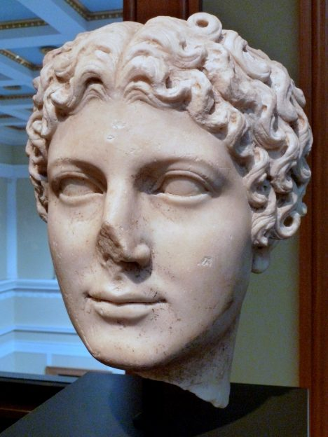 Head of Agrippina the Younger (Roman, c. AD 50) - Wife of Claudius, mother of Nero
