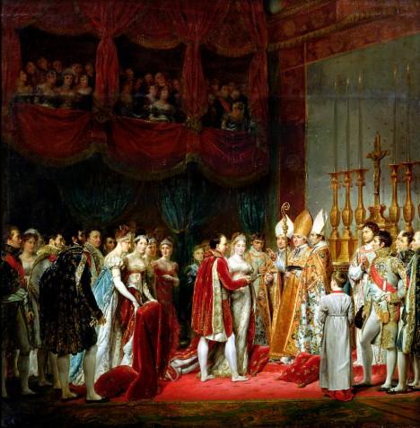 2. dubna 1810 si Napoleon I.  bere Marii Luisu Habsbursko-Lotrinskou.  Čeká, že mu novomanželka přivede na svět potomka.