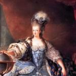 Extravagance na hlavě: Marie Antoinetta nosila v loknách i láhev s vodou