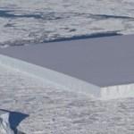 Foto měsíce: Hranatý ledovec na Antartidě!