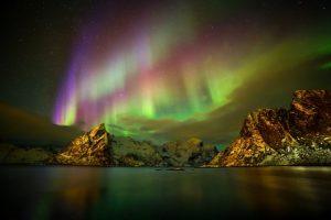 Barevná příroda: Jak vzniká polární záře?