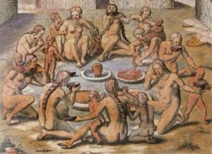 Krvavé rituály: Požírali se Pračeši navzájem?