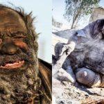 Nejšpinavější muž světa se 65 let nekoupal