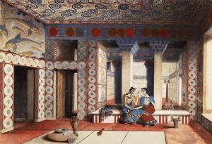 Minojskou civilizaci pohřbila rozzuřená sopka