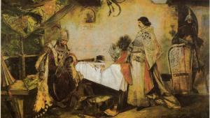 Setkání Jiřího z Poděbrad a Matyáše Korvína skončilo rvačkou šašků
