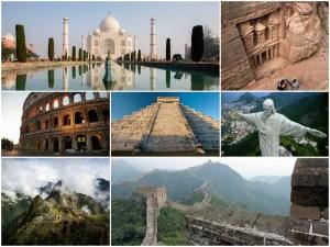 Nových sedm divů světa: Vybrali je lidé celého světa
