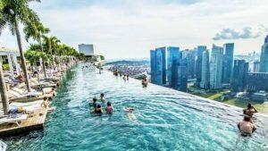 Bazény s nekonečným výhledem