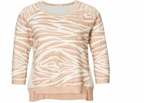 Heboučký pletený svetr je na podzim naprostou nutností.