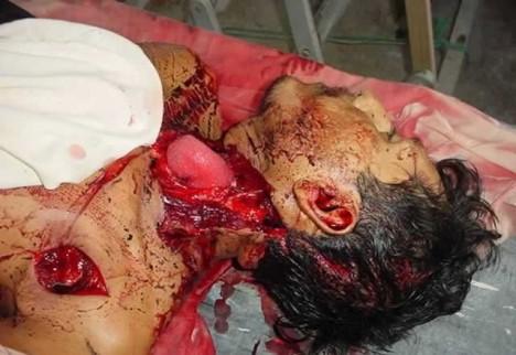 Oběť mexických drogových válek.