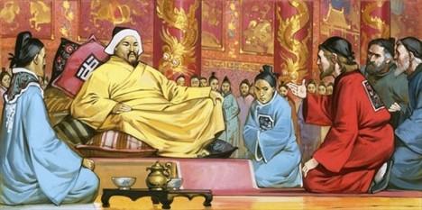 Za Kublajchánovi vlády dosáhne Mongolská říše svého největšího územního rozsahu.