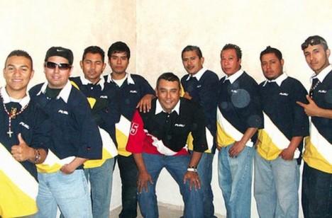 Populární skupina Kombo Kolombia.