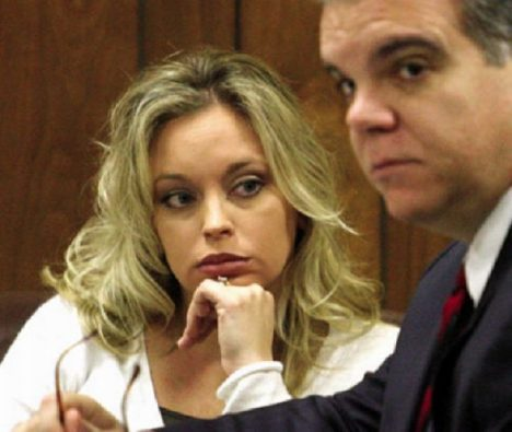 Darlene Gentryová u soudu.