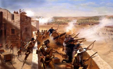 Alamo podlehne mexickému vojsku až po 13 dnech urputného obléhání.