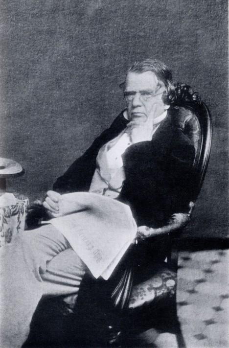 Američan Volney B. Palmer otevírá v roce 1842 ve Philadelphii první reklamní kancelář.